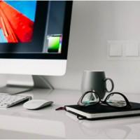 computer desktop for web designer