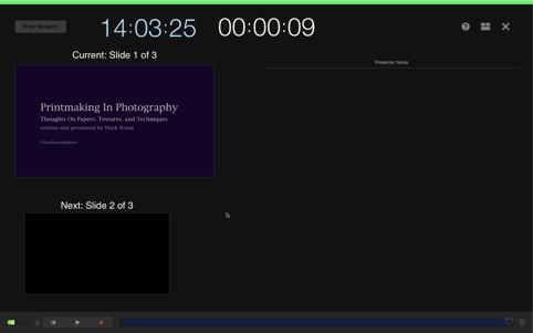 Using iMovie and Keynote together for Video Presentations